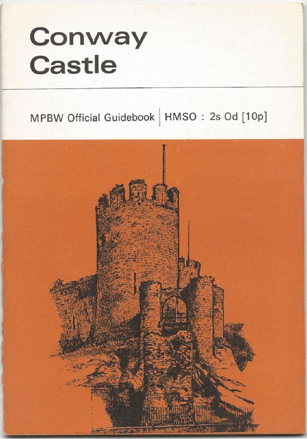 Conway Castle - 1961 official guidebook